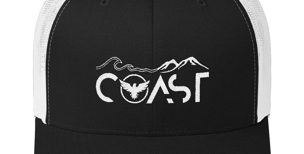 Mountains to Coast Mid-Profile Trucker Hat
