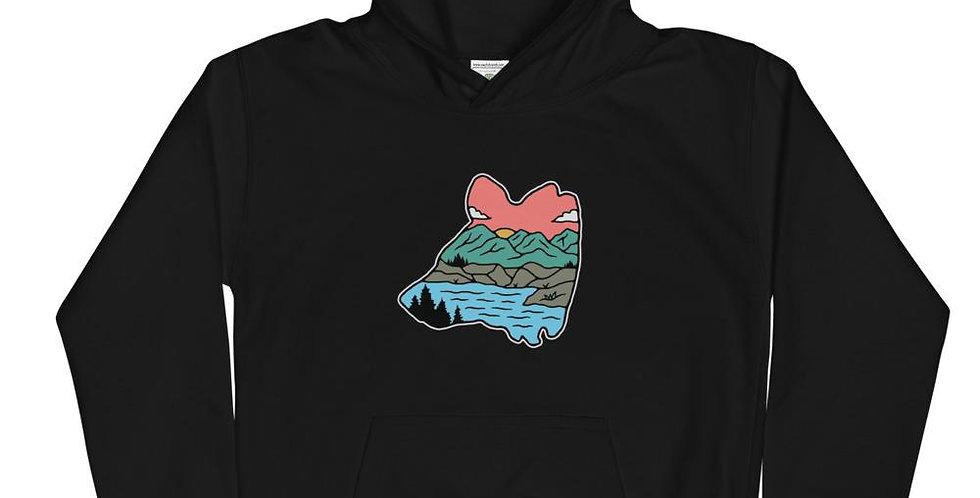 Coastal Bear Kids Hoodie