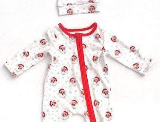 Merry Santa Baby Romper - Holiday Special