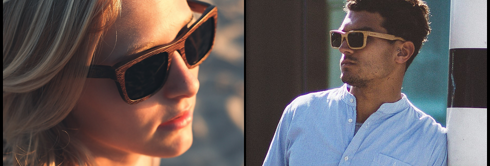 Carver Bamboo Sunglasses