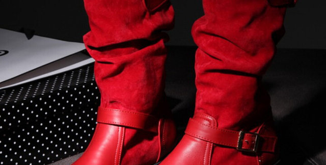 Ladies Women Winter Boots Hot Sale 2018 Extra Wide