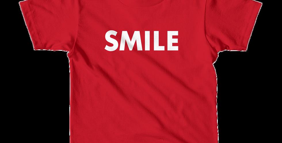 Smile Short Sleeve Kids T-Shirt