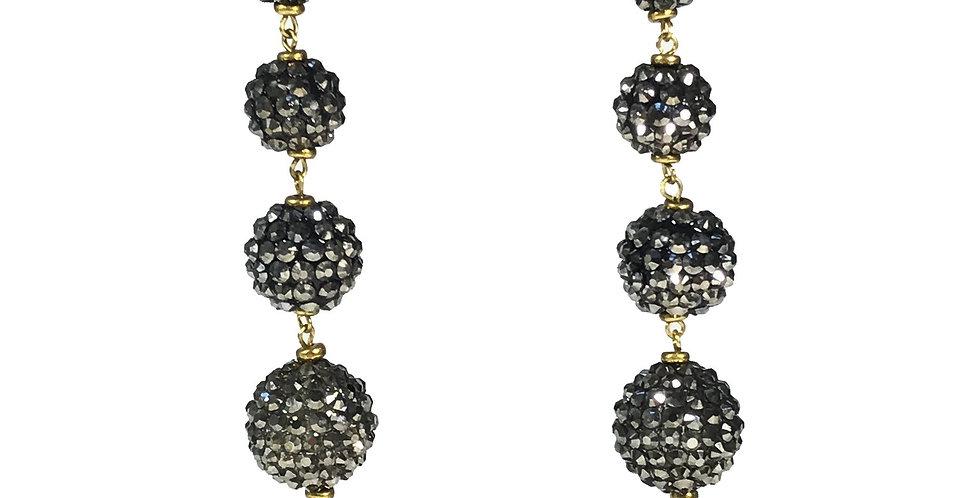 Cascading Sphere Earrings