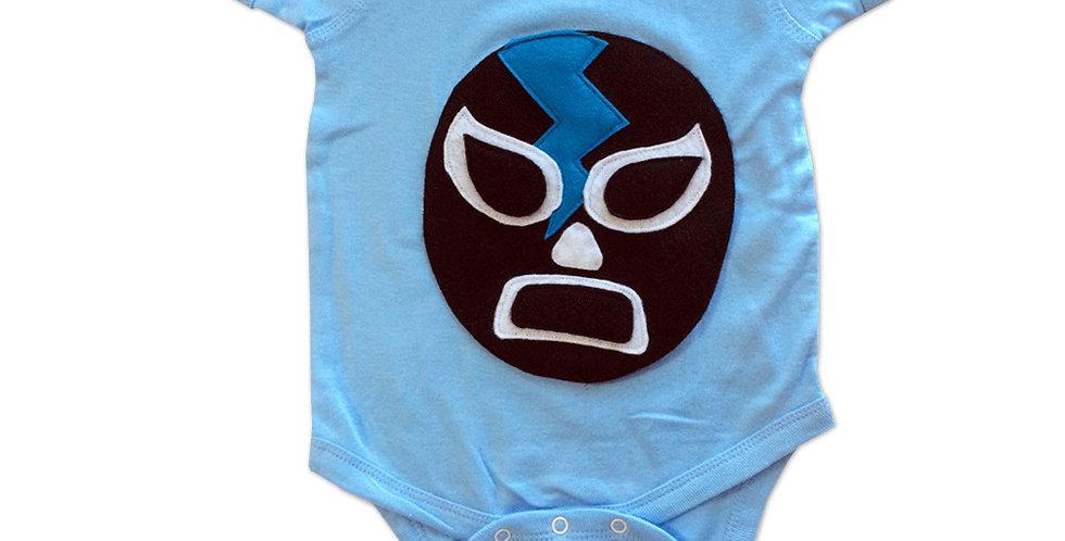 Baby Onesie - Luchador Negro