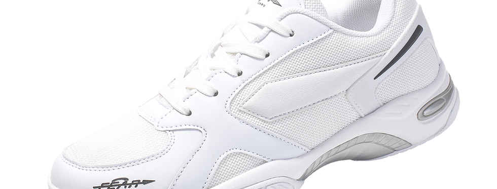 One High Arch Orthopedic Comfort Performance White Sneakers Shoes for Men
