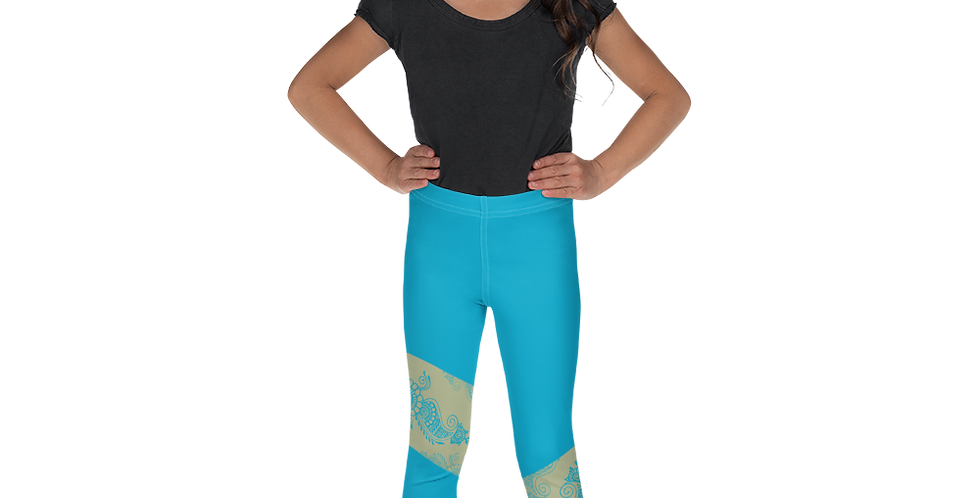 Drishti Blue Leggings for Girls