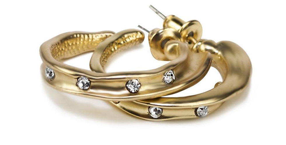 Laly Earrings-Gold