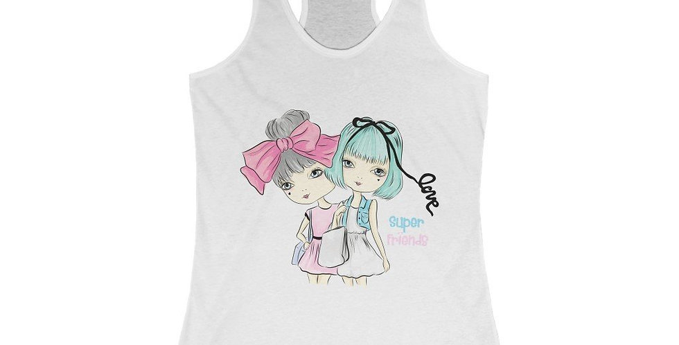 Girl Series - Super Friends Racerback Tank Top