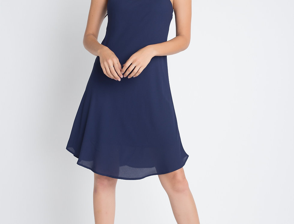 Women's Casual Sleeveless Flowy Dress