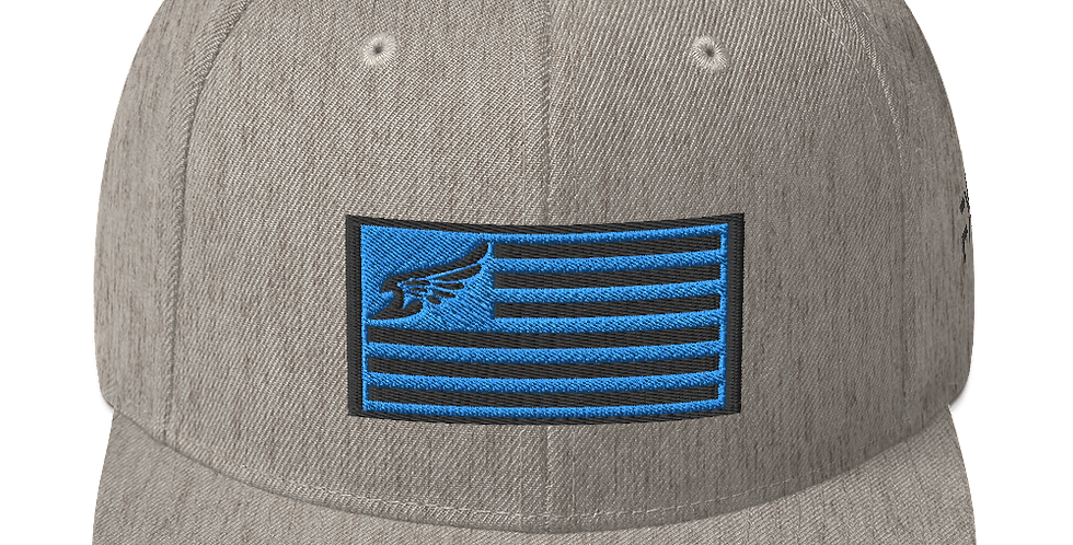 Find Your Coast Allegiance Heather Grey Adjustable Snapback Hat