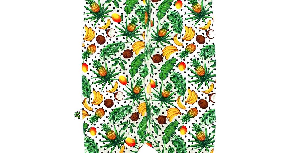 Footie - Short Sleeve - Fruity Dots
