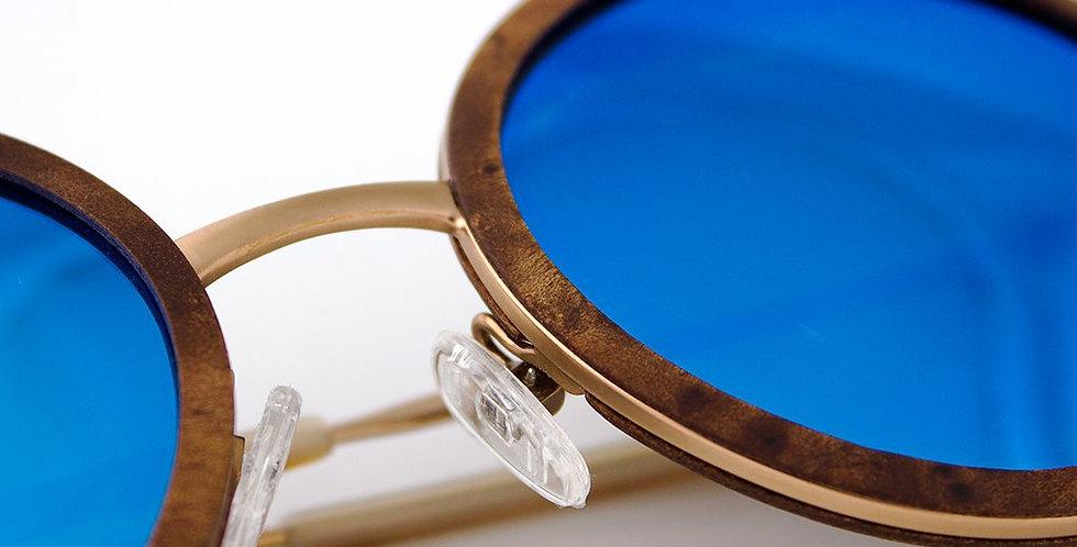Largo - Metal & Wood Sunglasses