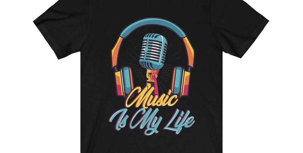 Headphone and Mic Music Is My Life