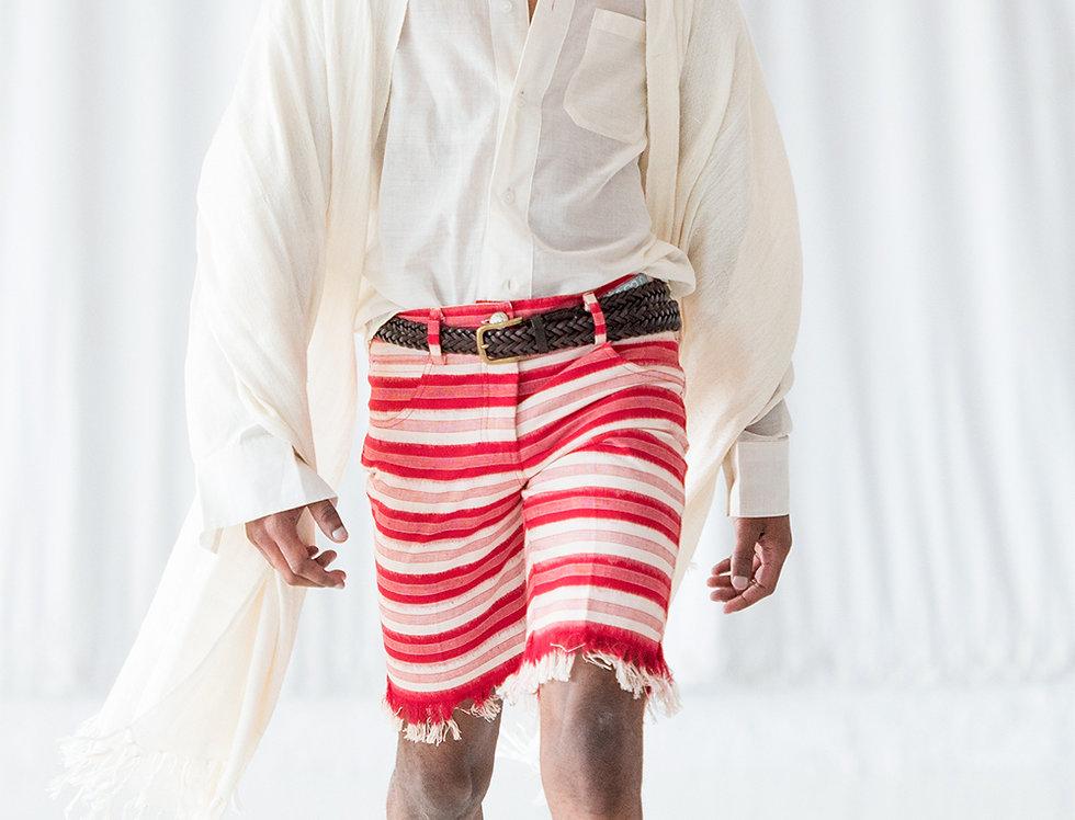Men's Fringe Shorts