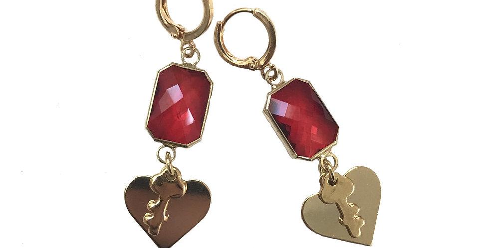 Keys to My Heart Earrings