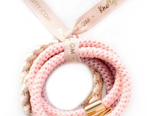 Luxe Hair Ponies | Champagne Blush
