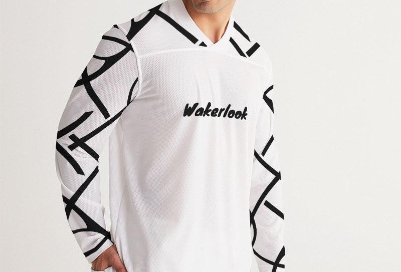 Wakerlook Men's Long Sleeve Jersey