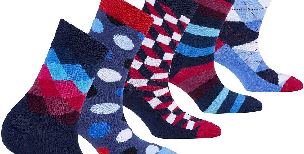 Kids Traditional Mix Set Socks