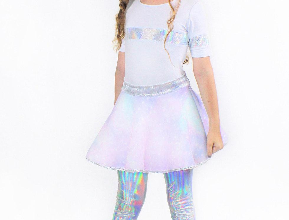 Lana Galaxy,  Scuba Bell Skirt