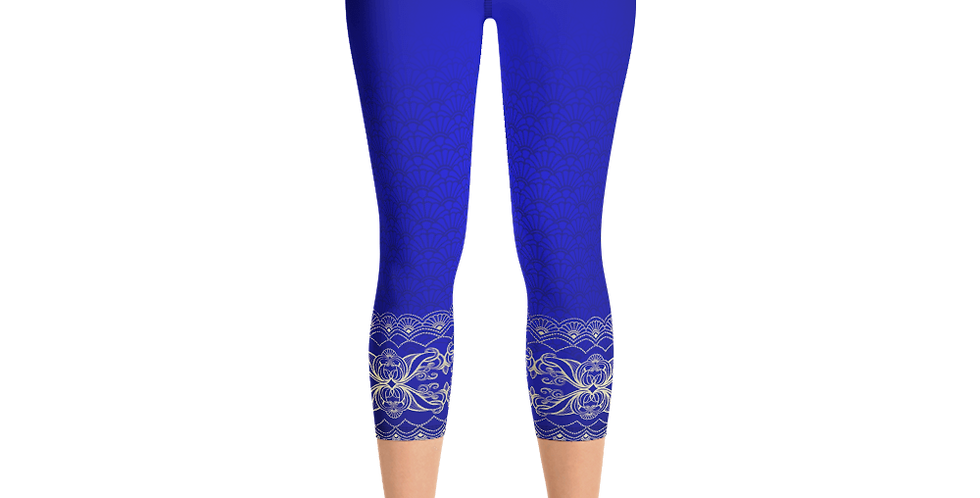 Satya High Waist Womens Yoga Capri Leggings