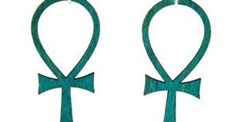 Ankh Earrings # 1151