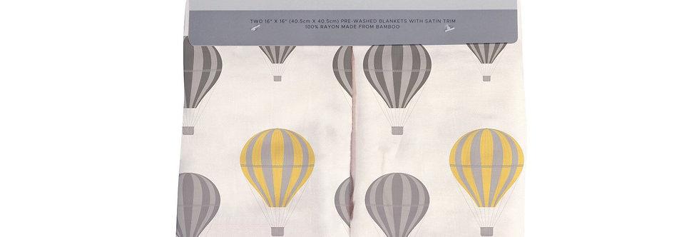 Hot Air Balloon Newcastle Blankie