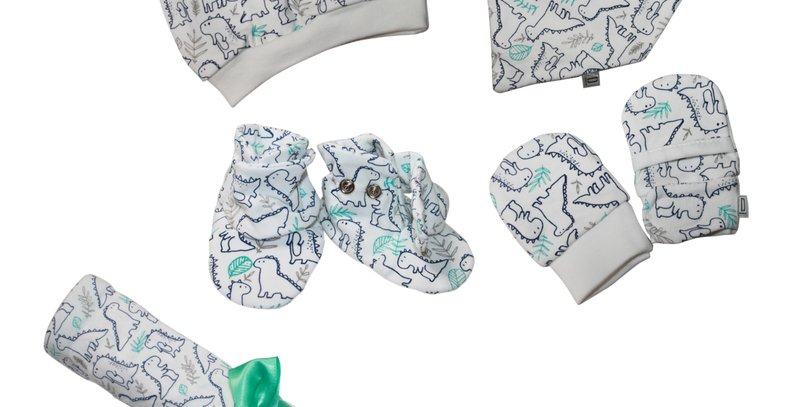 7 Piece Newborn Essentials Gift Set