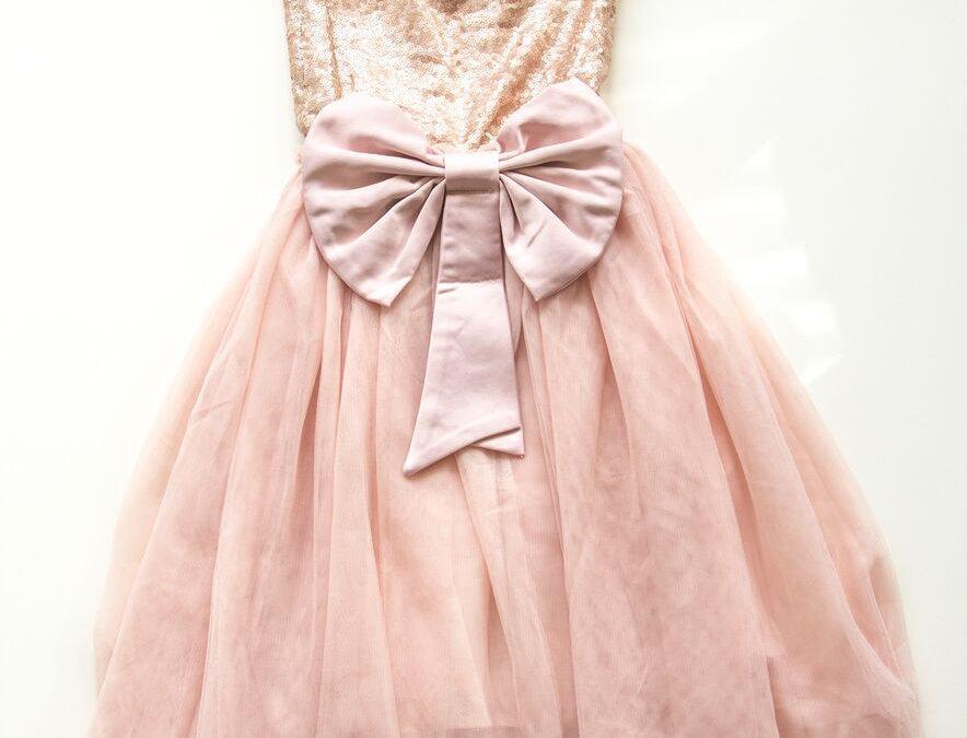 Miss Rose Sister Violet - Giselle Dress - Pink