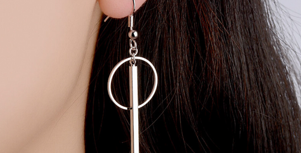 Sterling Silver Linked Earrings