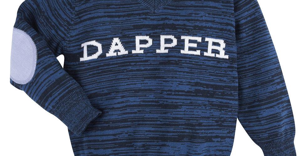 Blue Dapper Sweater