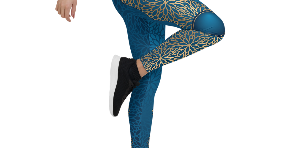 Warrior Womens Yoga Leggings