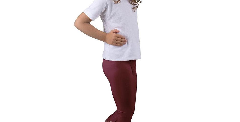 Prana Red Leggings for Girls