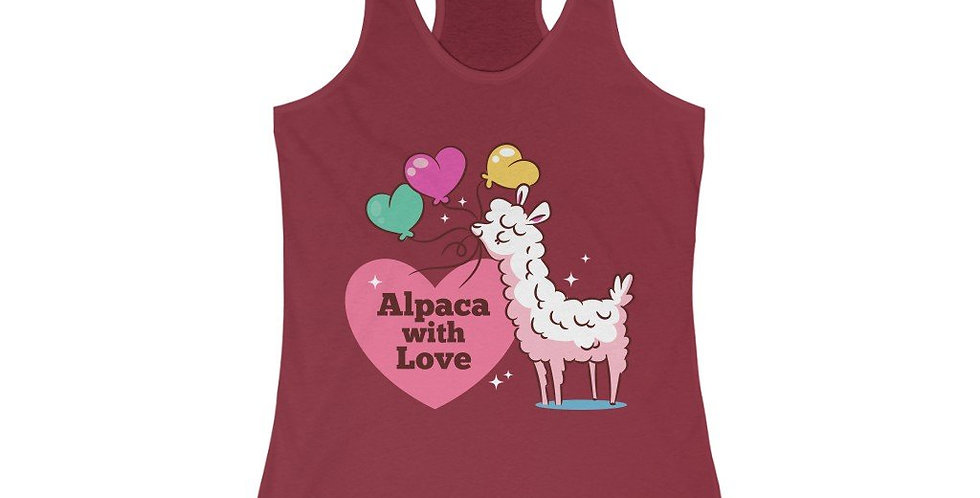 Alpaca With Love Racerback Tank Top