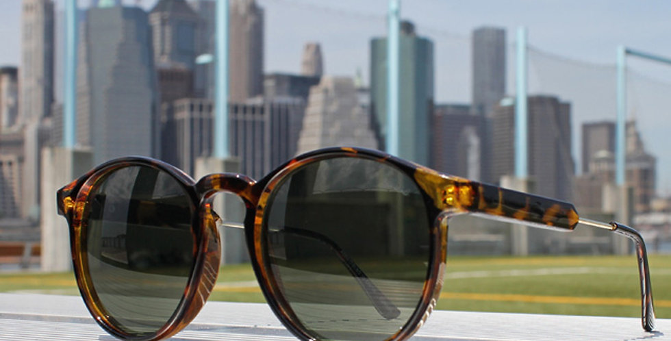Jase New York Connor Sunglasses in Havana