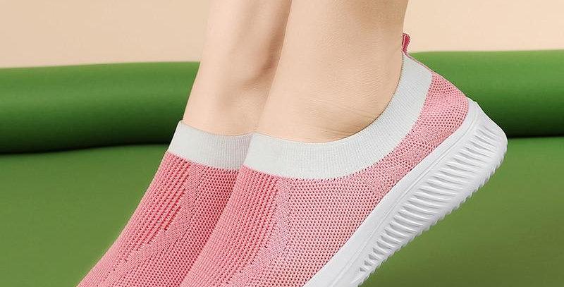 Sock Sneakers Flat Shoes Women Shoes Slip on Platform Sneakers Women