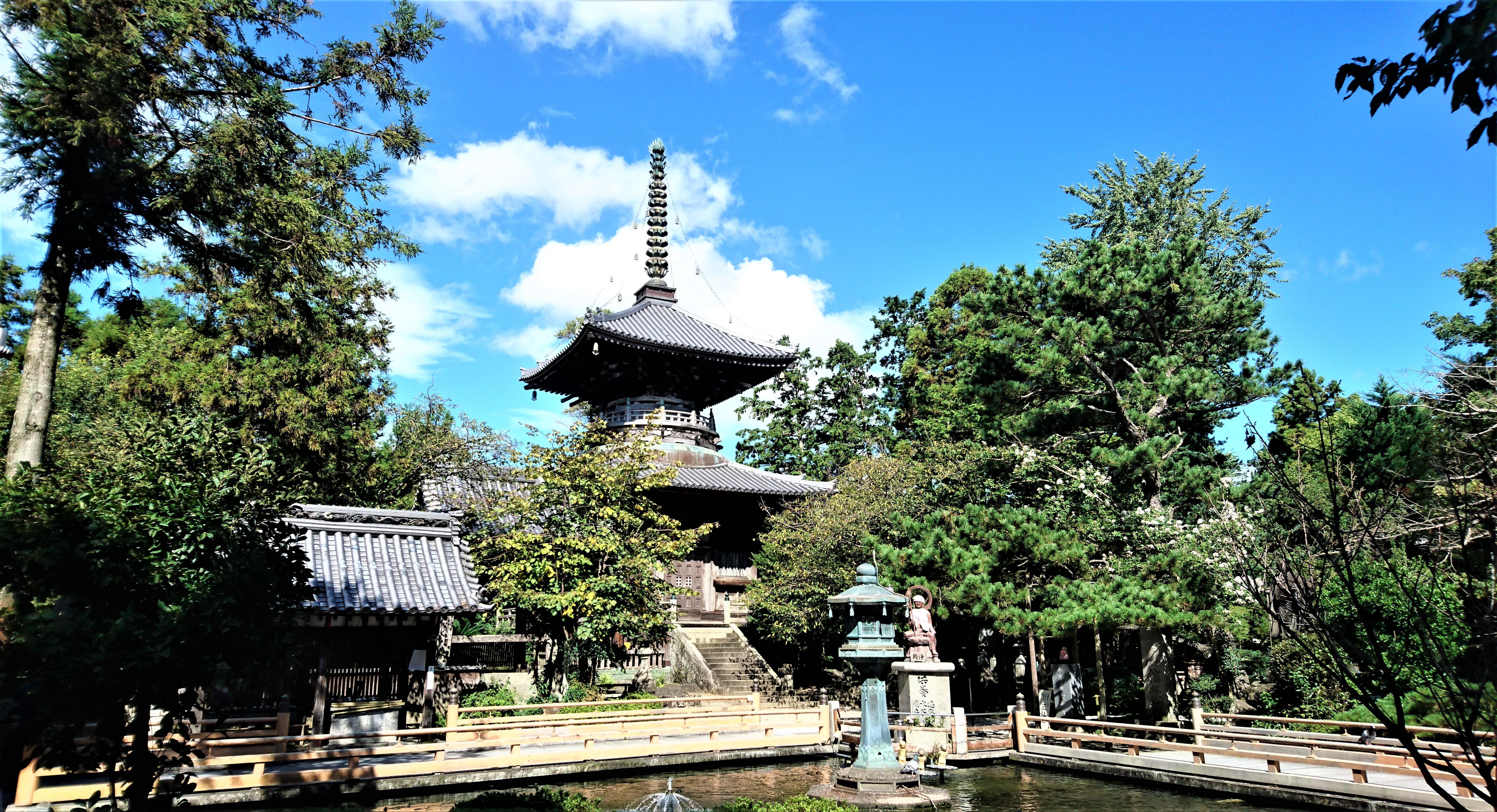 四国霊場 第一番札所 霊山寺