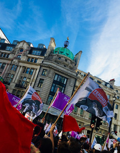 Feminists against Fascism march_october 2018