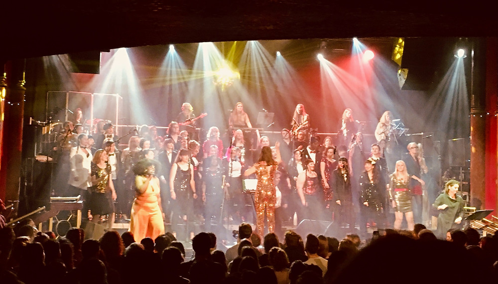 LIPS all female choir, london, december 2019