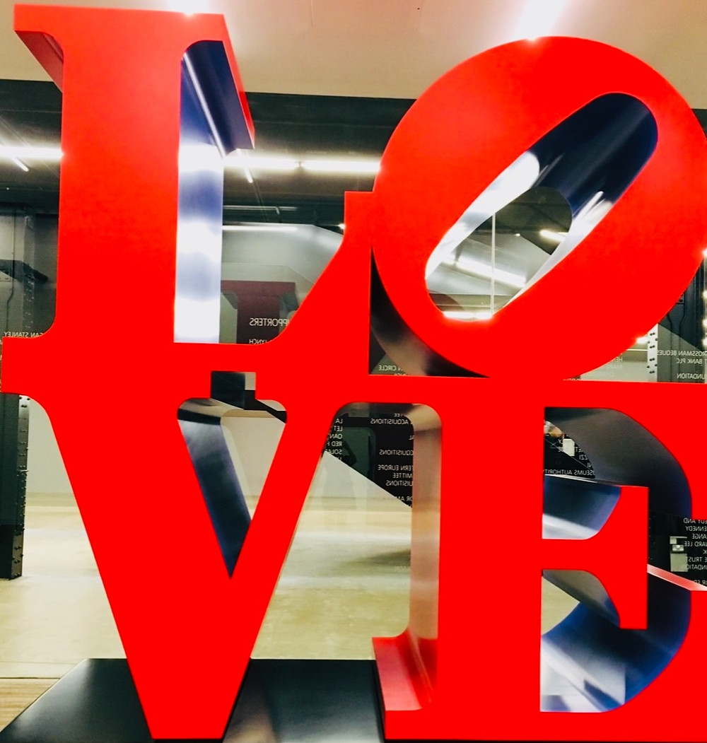 love art work tate modern london