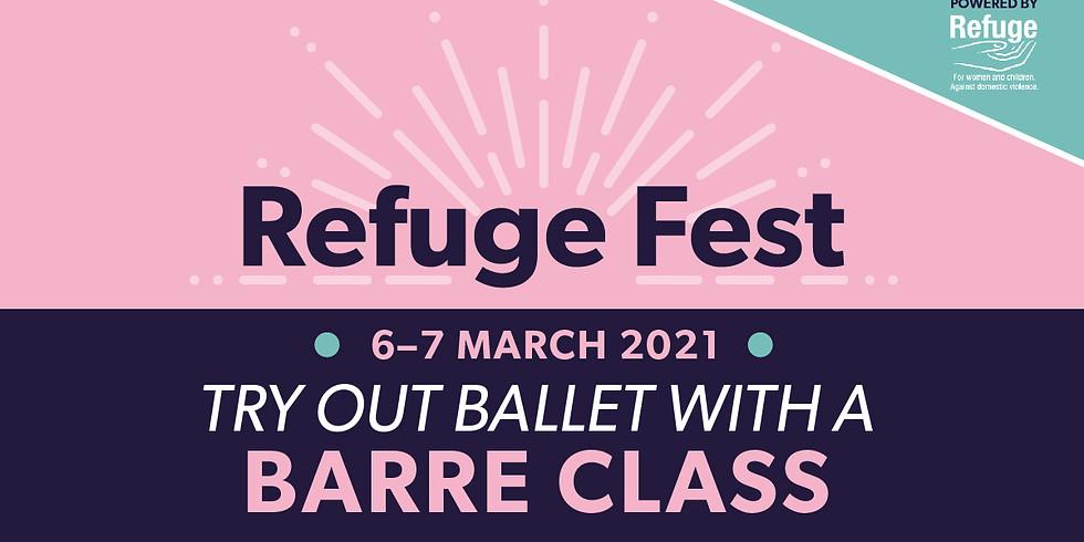 Join Refuge for a weekender of virtual talks
