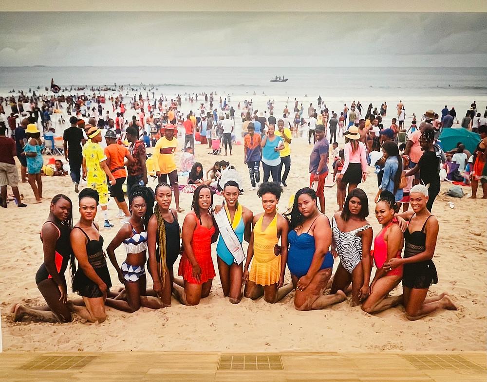 Brave Beauties (2014 - ongoing) , Durban beach, Zanele Muholi