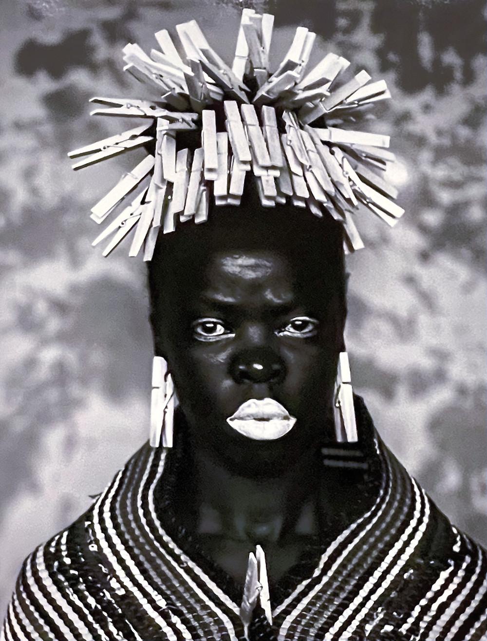 Bester I, Mayotte (2015), Somnyama Ngonyama, black and white photography, Zanel Muholi