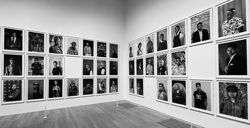 Faces and Phases (2006 - ongoing) black and white photography Zanele Muholi