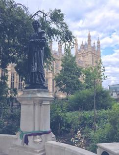 Emmeline Pankhurst Statue, Westminster.j