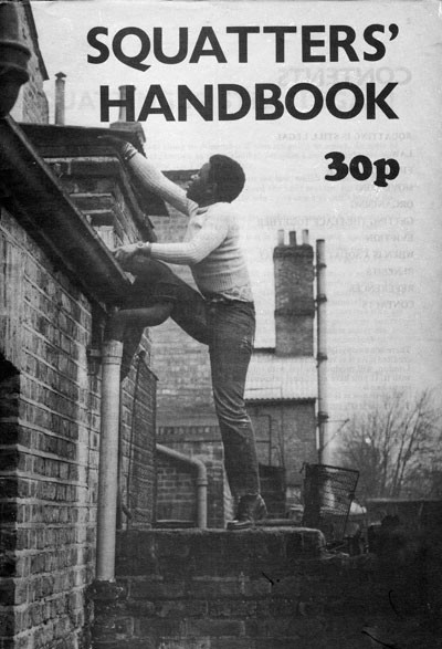 Olive Morris front cover squatters' handbook 1979