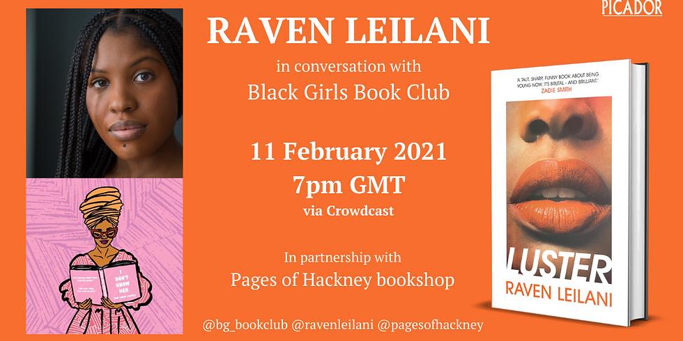 UK launch of Raven Leilani's debut novel LUSTER