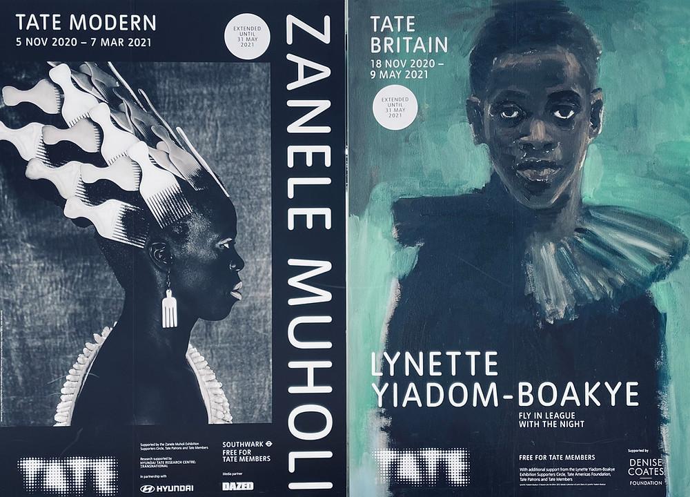 Zanele Muholi & Lynette Yiadom-Boakye Posters - Tate Gallery