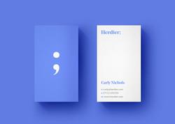 Herdier Business Card