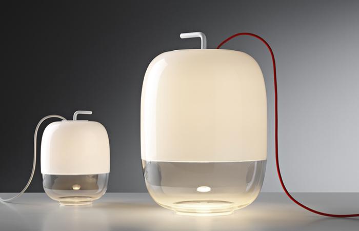 Lampe de table Gong de Prandina