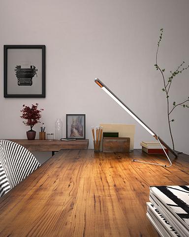 Lampe de Table LED Tubo de Belux